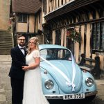 Borrowed and Blue VW Wedding Car